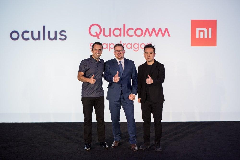 Qualcomm Pressekonferenz mit Vorstellung zwei neuer VR Brillen