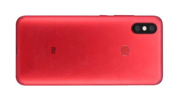 Rückseite des Xiaomi Mi 6X
