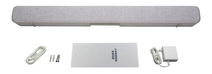 Âmbito de entrega do Xiaomi TV Soundbar