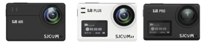 Модели SJCAM SJ8