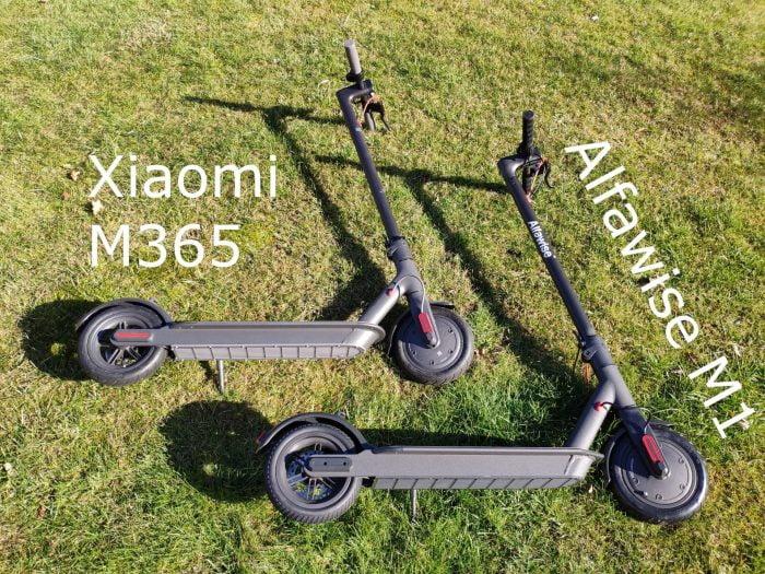 Alfawise M1 vs. Xiaomi M365