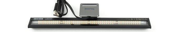 BenQ ScreenBar Lite Rückseite mit LEDs