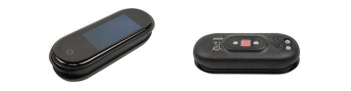 Trackingeinheit mit OLED Farbdisplay und rückseitigem Herzfrequenzsensor
