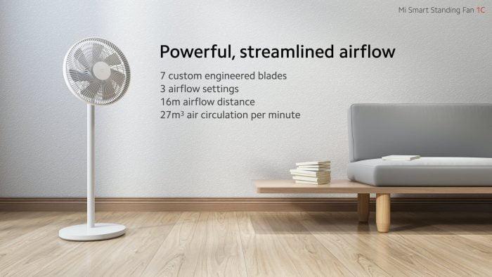 Вентилятор Xiaomi Mi Smart Standing Fan 1С
