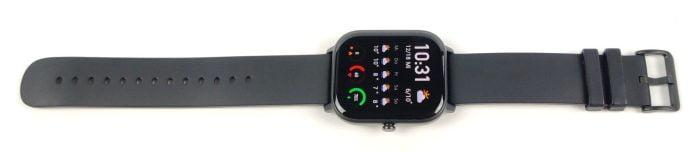 L'avant de l'Amazfit GTS Smartwatch.