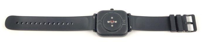 L'arrière de la montre intelligente Amazfit GTS.