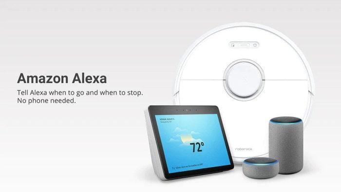 Controle o Roborock S6 com muita inteligência com Alexa, Siri ou Google