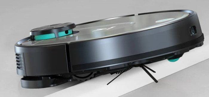 Vakuum robota VIOMI V2 Pro vytváří podpatky s výškou 2 cm