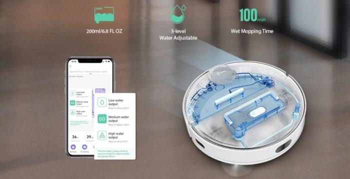 Elektrische waterpomp van de 360 S6 Pro.