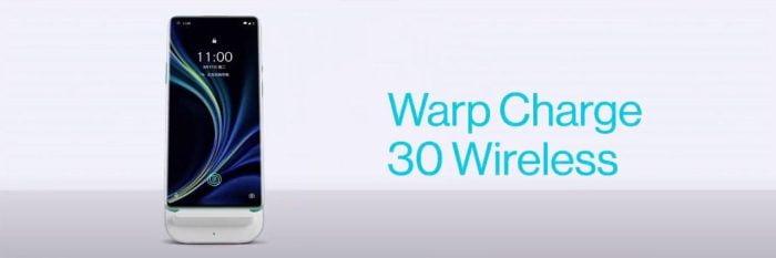 OnePlus 8 Pro Warp Charge 30 sem fio