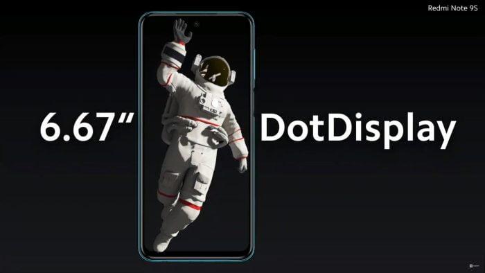Redmi Note 9S DotDisplay