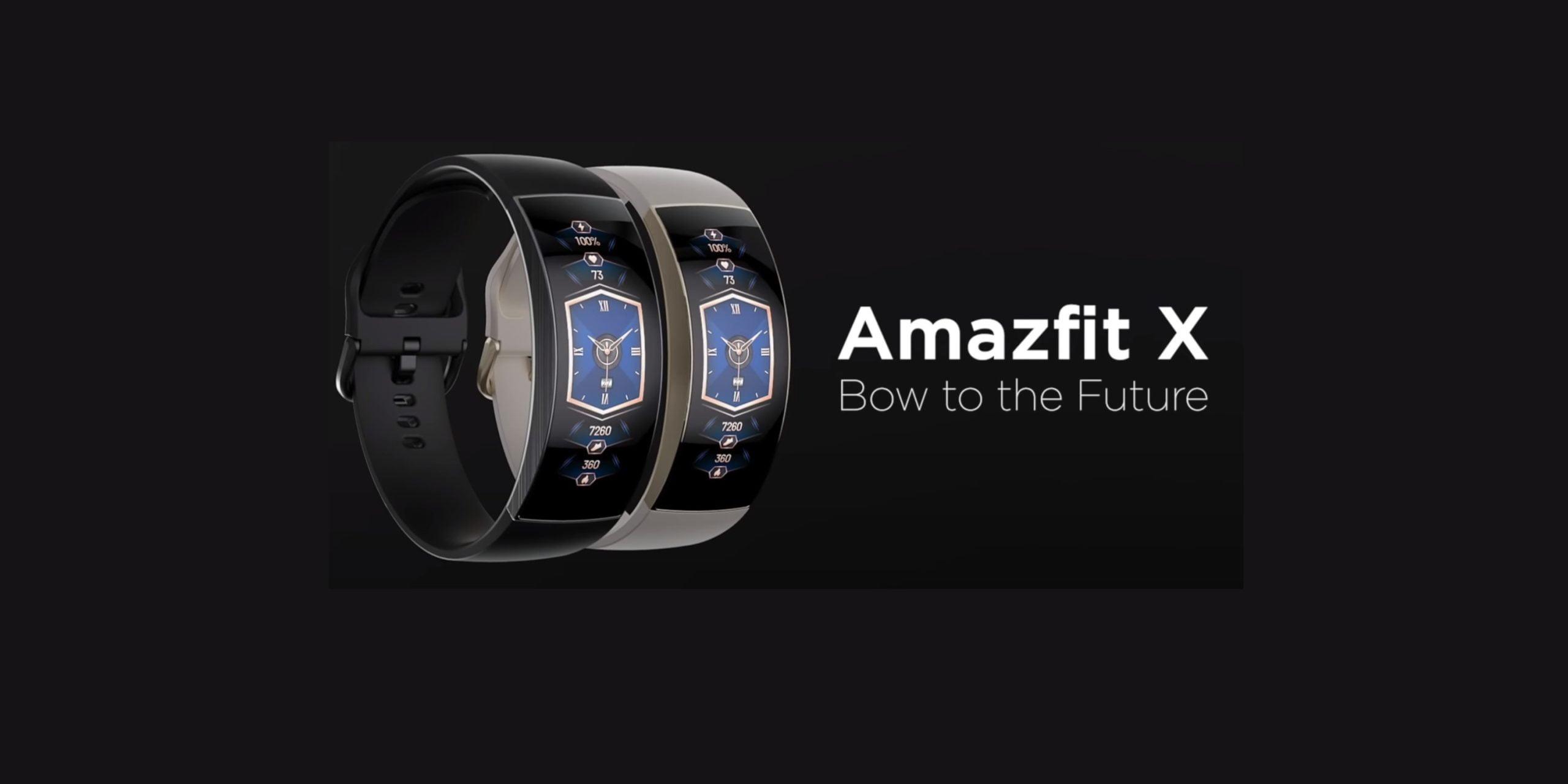 Amazfit X Smartwatch Ağustos ayında geliyor!