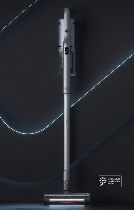 Der Roidmi NEX 2 Pro in Space Gray und mit OLED Display.