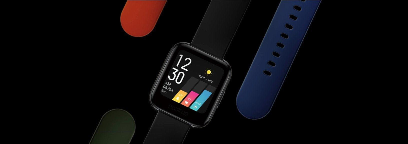 Realme Watch Smartwatch avec fonctions sportives.