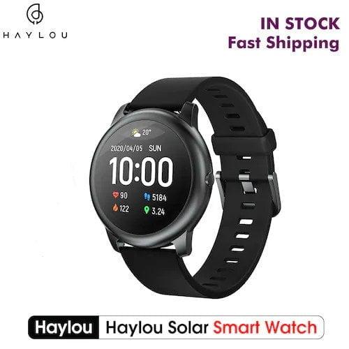 Haylou Solar Smartwatch maintenant en version mondiale.