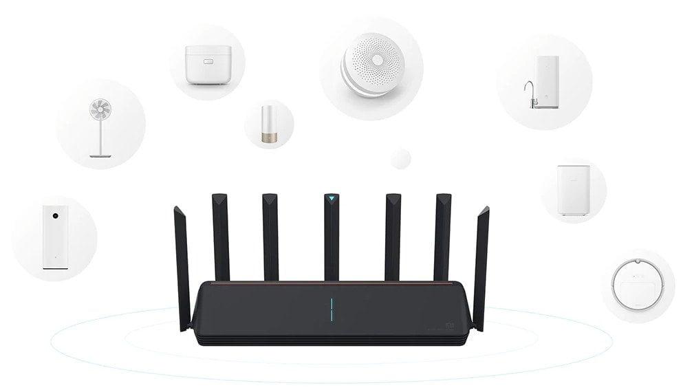 Xiaomi AX3600 router AIoT compatibility.