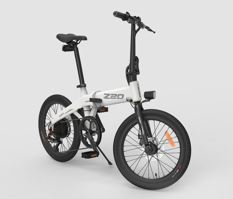 Vélo électrique HIMO Z20 avec moteur électrique à courant continu de 250 watts.
