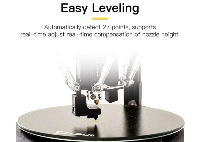 Flsun Q5 automatische nivelleringssensor