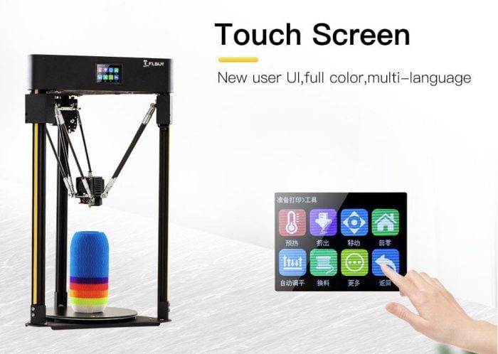 Flsun Q5 touchscreen