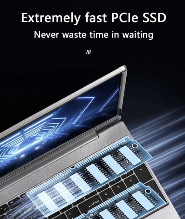 Notebook para jogos KUU G2 SSD Dual M.2