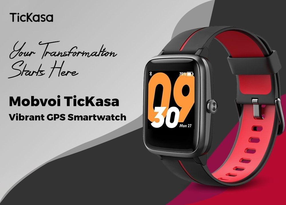 Montre intelligente GPS Mobvoi TicKasa.