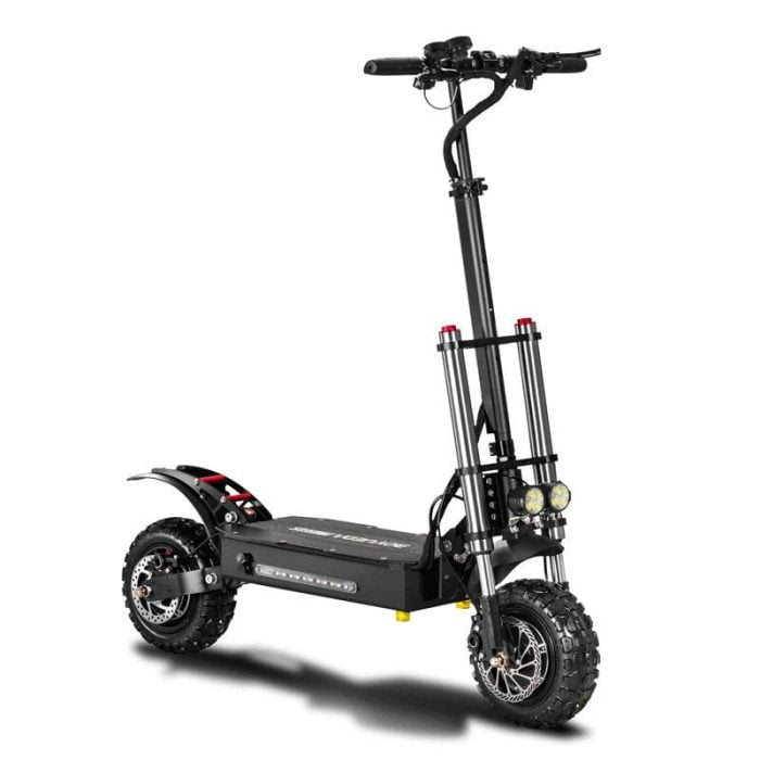 BOYUEDA 28.6AH 60V 5400W Dual Motor Folding Electric Scooter 11inch 85km/h Top Speed 110-130km Mileage Range Max Load 400kg