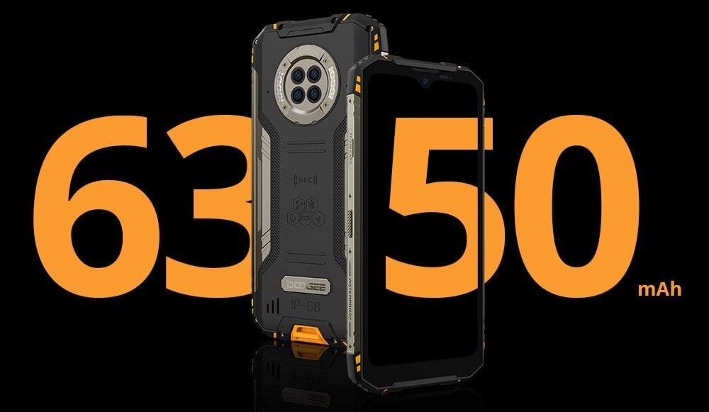 DOOGEE S96 Pro 6350 mAh pil