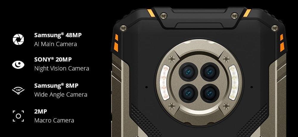 DOOGEE S96 Pro 48 MP dörtlü kamera