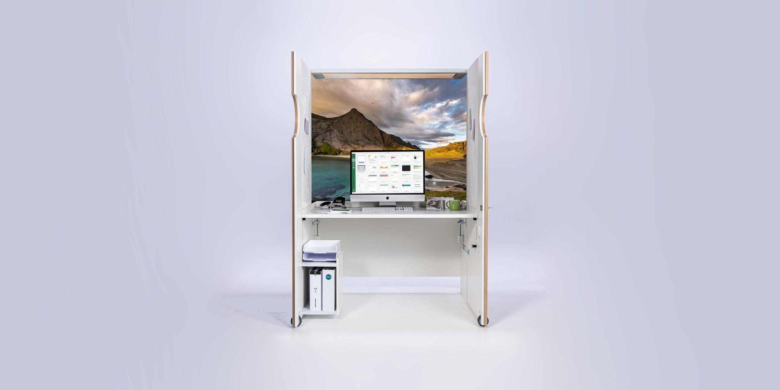 mocube - Das Home Office im Schrank