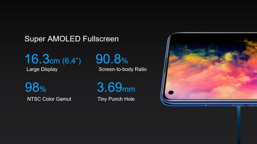 Écran Realme 7 Pro Super AMOLED
