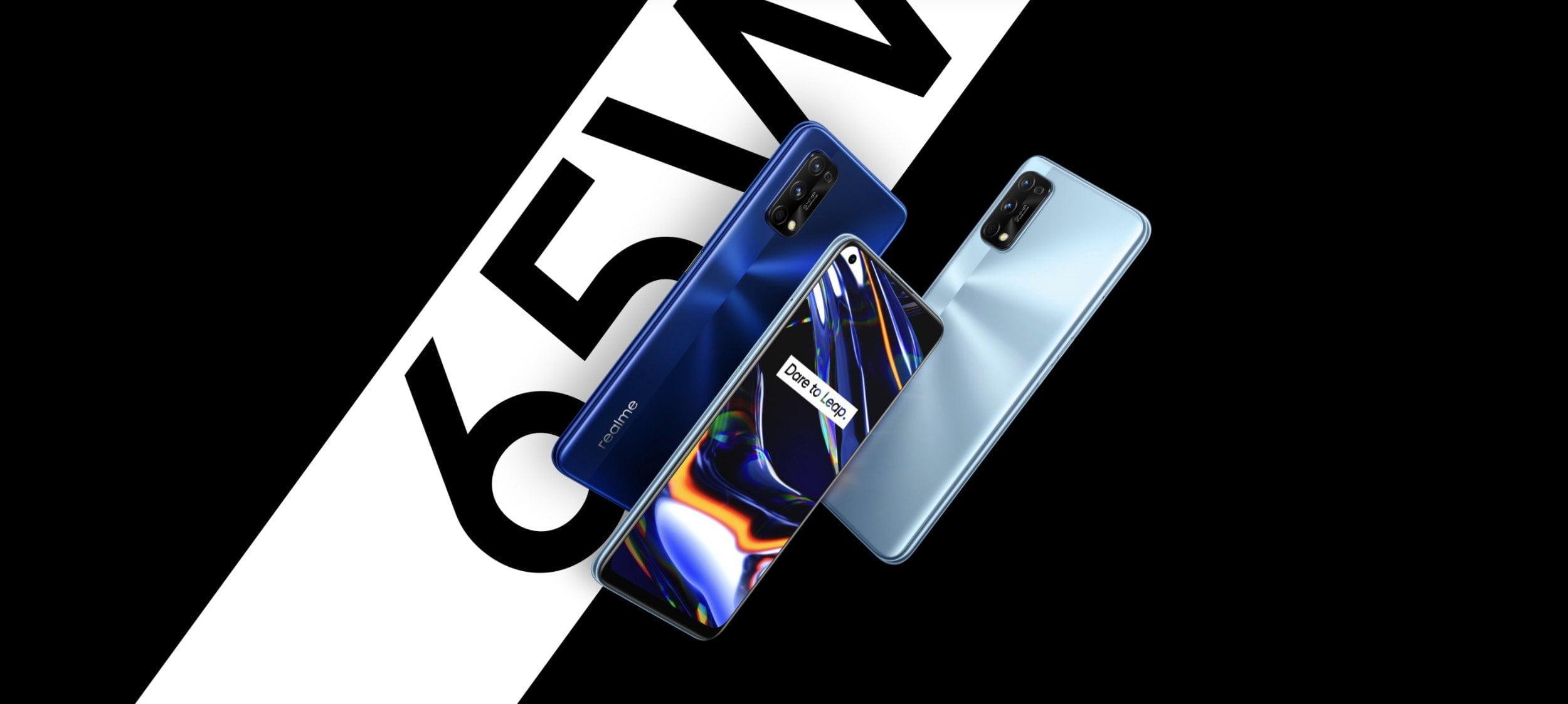 Smartphones Realme 7 Pro et Realme 7