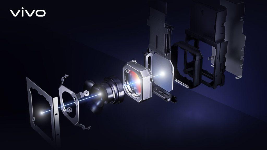 sistema di fotocamera gimbal vivo X51
