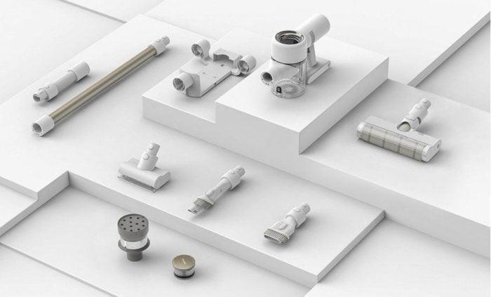 Accessoires Dreame V10 Pro.