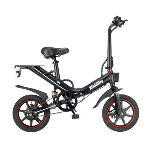 Niubility B14 15Ah 48V 400W 14 Inches Folding Moped Bicycle 25km/h Top Speed 100KM Mileage Range Electric Bike Ebike