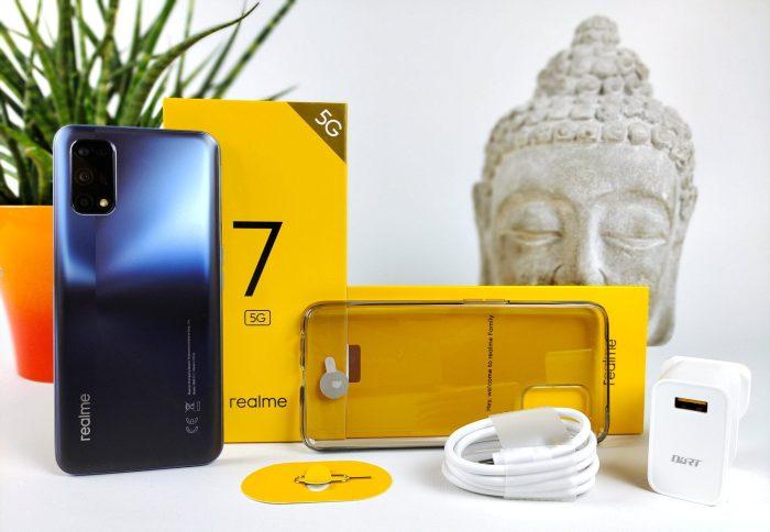 Zakres dostawy Realme 7 5G