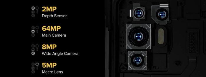 Quad Camera Ulefone Armor 10 64MP