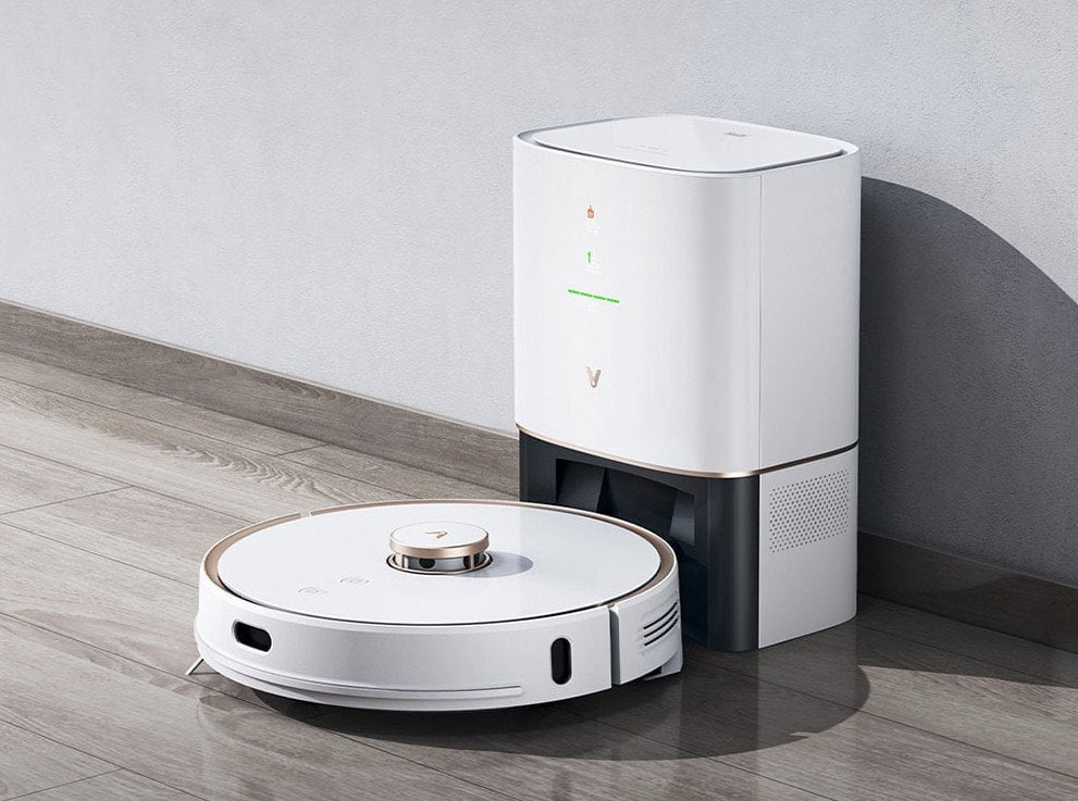 Xiaomi VIOMI S9 Robot Vacuum Cleaner + Automatic Suction Station 2700Pa