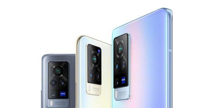 vivo X60 Pro smartphone terug
