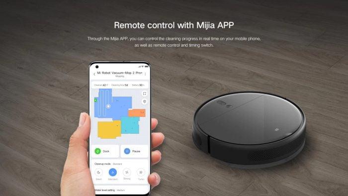 Télécommande avec l'application MIJIA
