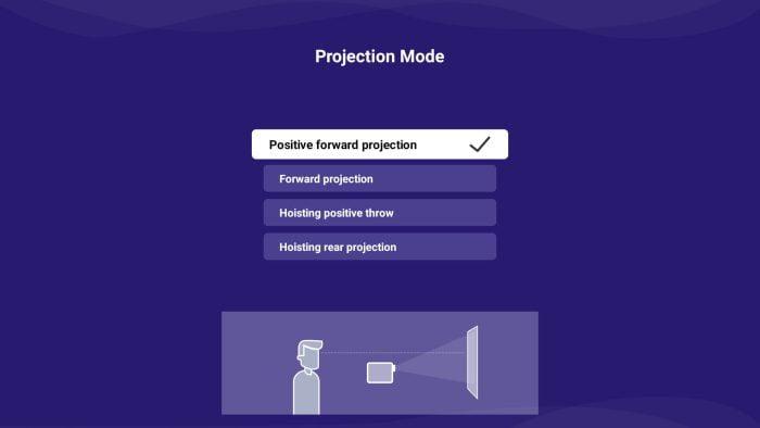 BlitzWolf BW-VP9 Projection Mode