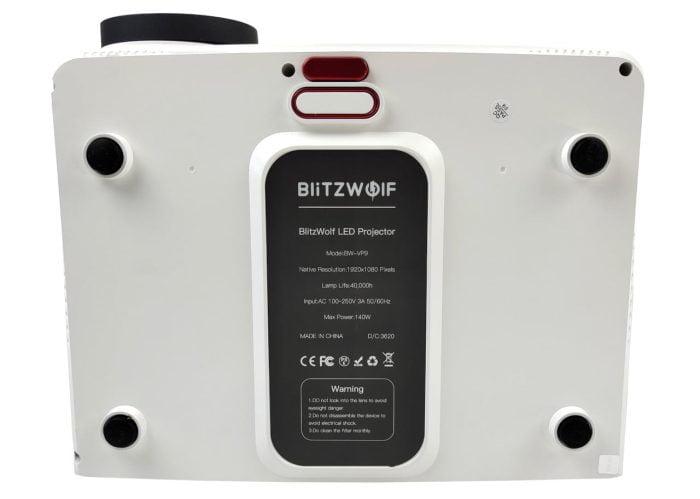 BlitzWolf BW-VP9 bottom