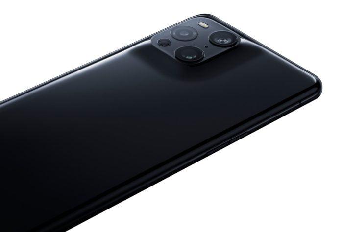 OPPO Find X3 Pro Backside Gloss Black