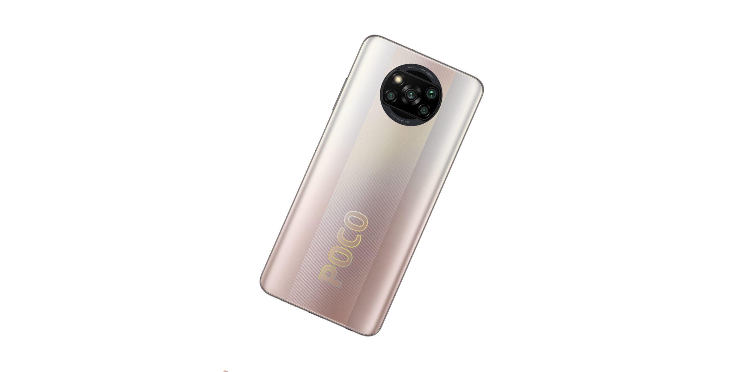 Nagłówek do smartfona POCO X3 Pro