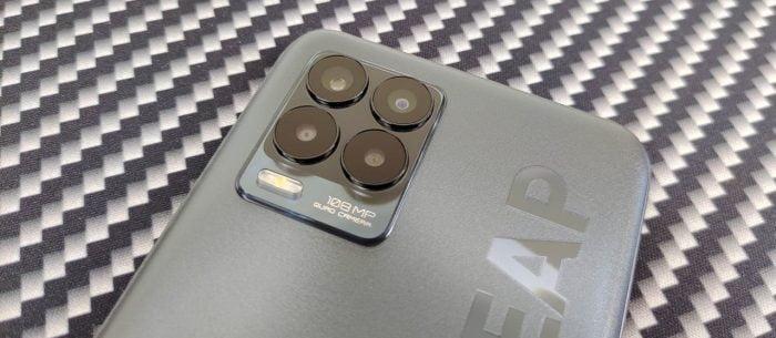 câmera realme 8 Pro