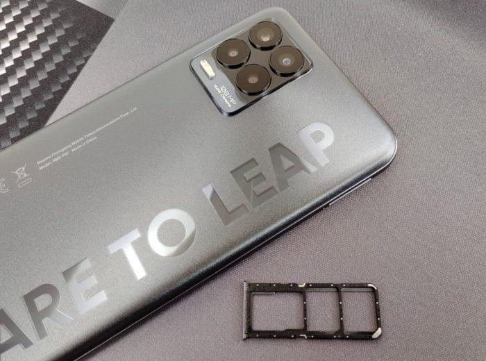slot realme 8 Pro Hybrid SIM