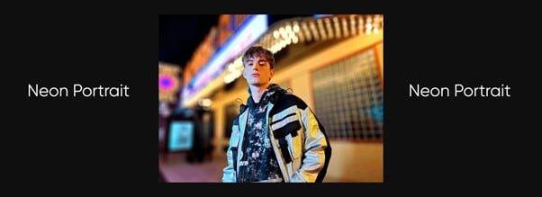 realme 8 Pro Neon Portrait