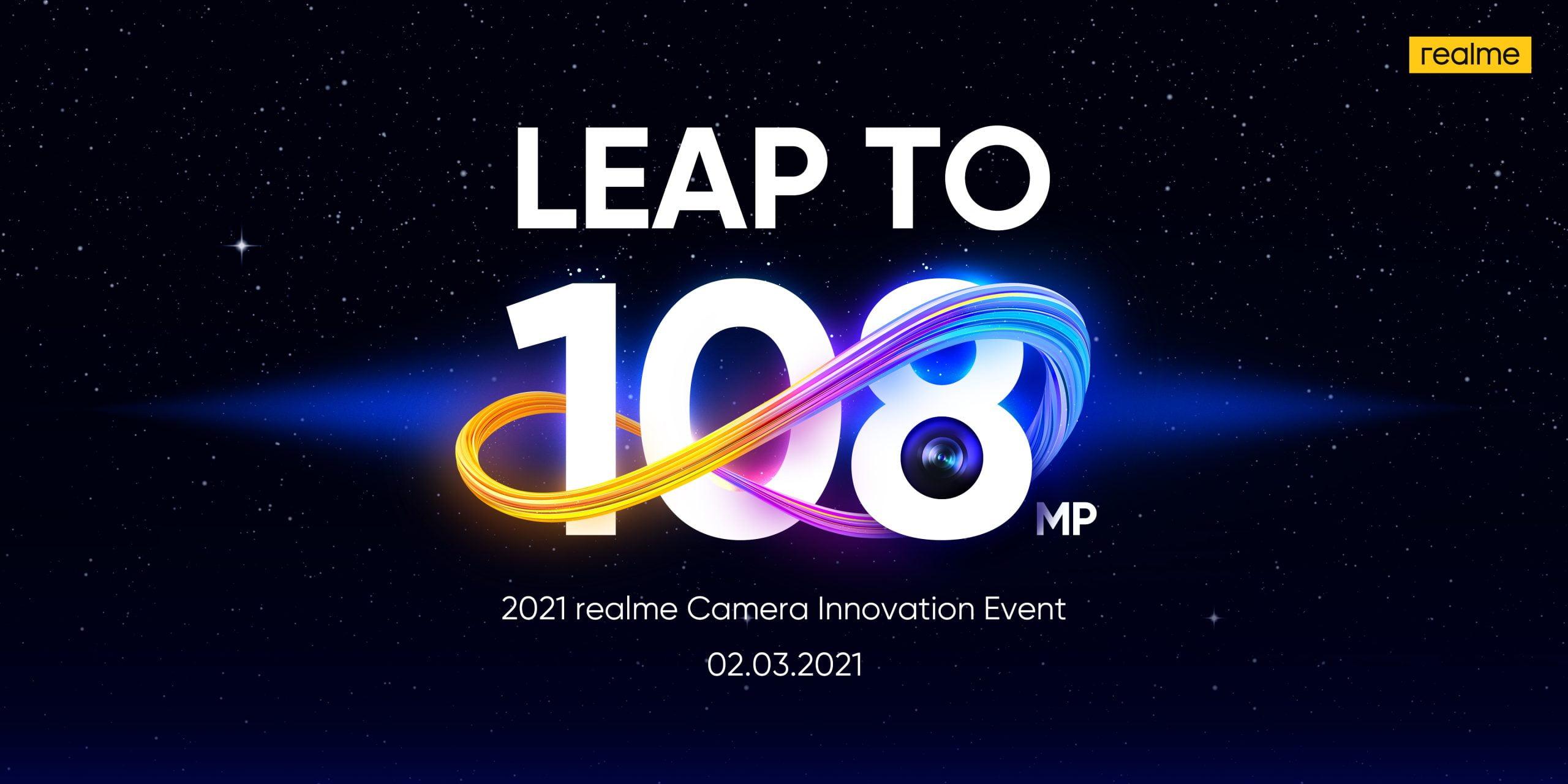 Événement de la série Realme 8 Smartphone