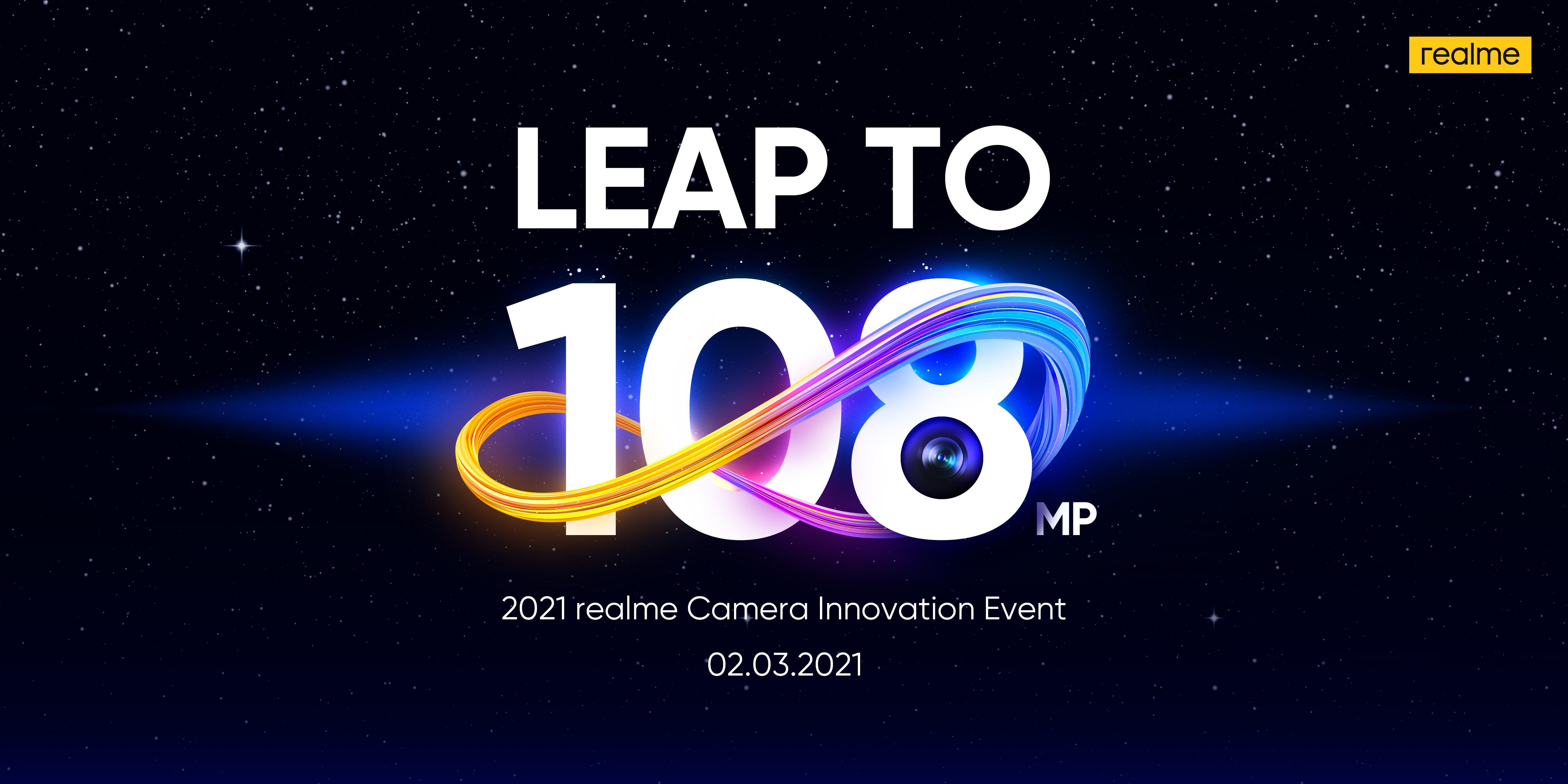 realme 8 Smartphone-Series mit 108 MP Kamera angekündigt