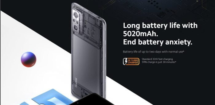 Bateria Redmi Note 10 Pro 5020 mAh