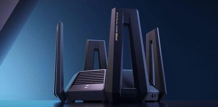 Xiaomi AX9000 router with 9000 Mbit / s, 4K QAM, Mesh, NAS, 12 antennas